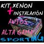 Kit De Luces Xenon Auto Alta Gama H1 H3 H7 H11 H11 Instalado