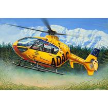 Modelo De Helicóptero 1:72 Revell Ec 135 Adac Kit Fácil