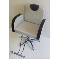 Poltrona Cadeira Hidraulica Pra Salão De Cabeleireiro Caique