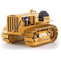 55154 - Miniatura Trator Esteira Série D22 Cat Antigo