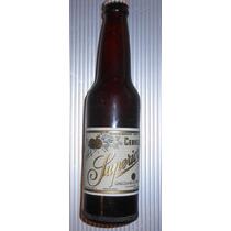Rara Vieja Ficha Botella Sin Abrir Cerveza Superior 1950s