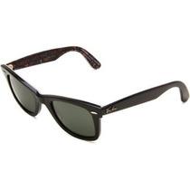 Gafas Ray Ban Rb2140 Wayfarer Original Marco Negro / Verde