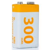 Pila Bateria Recargable 9v 300mah Ni Mh