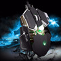 Mouse Gamer 10 Botones 4000 Dpi Luom G10 Macros Programable