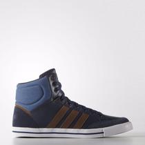 Zapatillas Adidas Neo Cacity Mid Hombre Azul C/marron