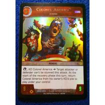 Colonel America Zombie, Marvel Vs System, #5 2007 Exclusiva