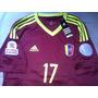 Franela Camiseta La Vinotinto Venezuela Martinez #17 Adidas