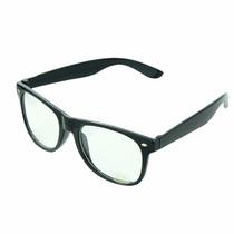 Armação Oculos Grau Barato Wayfarer Preto + Case Unissex