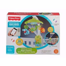 Fisher Price Movil Proyector Para Cuna Smart Connect