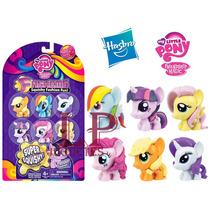 Fashems Hasbro My Little Pony X6 Figuras De Goma Tv