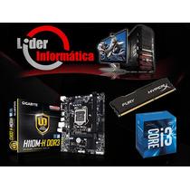 Kit Placa Mãe + Processador + Memoria 16gb - Promoção