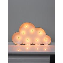 Luminária Nuvem 48cm / Quarto De Bebê Retrô / Vintage