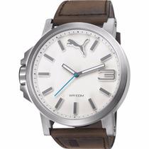 Puma Ultrasize Correa Piel 50mm Pu103461016 Reloj Diego Vez