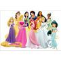 Painel Decorativo Festa Infantil Disney Princesas (mod8)