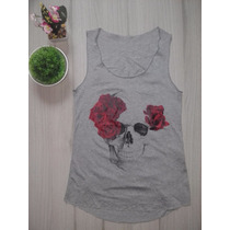 Blusinha Regata T-shirt Feminina - Vários Modelos