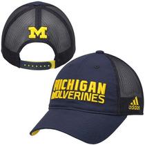 Gorra Adidas De Los Michigan Wolverines 100% Autentica