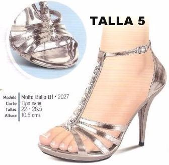 a5164760ff4 Hermosas Sandalias Color Plata Envio Inmediato -   550.00 en Mercado Libre