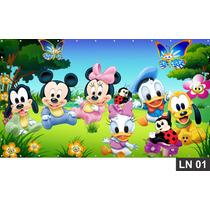 Disney Baby Painel 2,00x1,00 Festa Aniversario Decoração