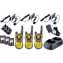 Kit 3 Radios Motorola 37km (23 Millas) Mh230tpr Manos Libres