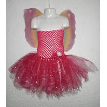 Nuevo Disfraz Hada Princesa Mariposa Niñas De 4 - 6 Años