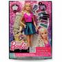 Barbie- Cabelos Com Gliter+brindee!!!