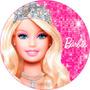 Barbie 20 Cm - Papel Arroz A4 Pronta Entrega