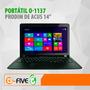 Laptop Acus Prodim O-1137 14¨ Cel-10370 1.8ghz 2gb 320gb W8