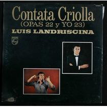 Disco Vinilo - Cantata Criolla - Luis Landriscina Caballito