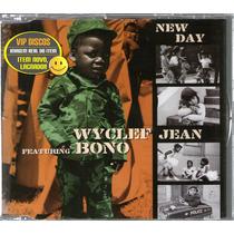 Wyclef Jean Com Bono U2 Cd Single New Day 2 Versões Br Raro