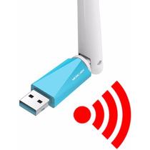 Adaptador Usb Wi-fi Internet Sem Fio Modem Roteador Notebook