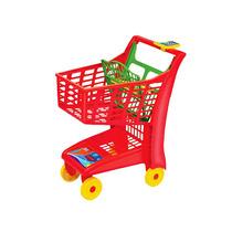 Carrinho De Supermercado Infantil Market Vermelho Magic Toys
