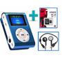Mp3 Shuffle Lcd Clip + 8 Gb + Auricular / Recargable/ Oferta