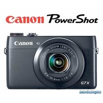 Camara Profesional Canon G7x Full Hd Wifi 20x Ap 1.8 / 2.8