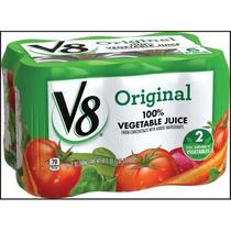 Jugo De Vegetales V8 11,5 Oz 6 Pack Original 100%