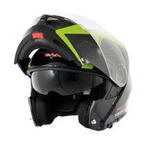 Casco Vcan V270 Rebatible Doble Visor Nuevo Modelo Rh-motos