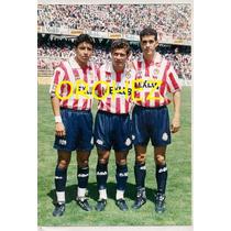 Lote Fotos Originales Futbol Chivas Guadalajara Años 90s