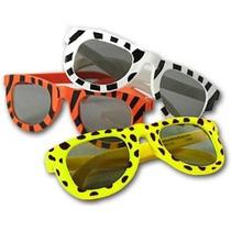 Animal Print Gafas De Sol Surtido (1 Dz) (los Colores Pueden