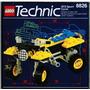 Lego Technic 8826 Moto Usado, Muito Raro Do Ano 1992