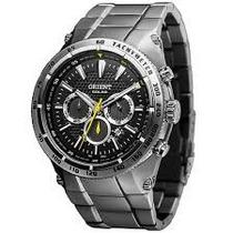 Relógio Orient Masculino Solar Tech Titanium Mbttc010 P1sx