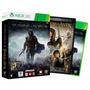 Sombras De Mordor + Filme (dvd) - Xbox 360 - (novo)