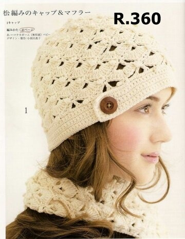6f38697d215a9 Gorro Tejido Crochet Mujer Dama Verano E Invierno -   400