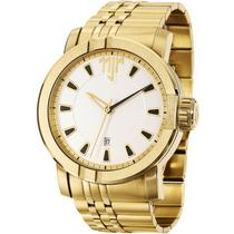 Relógio Neymar Jr Nj38071h Dourado