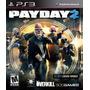 Pay Day 2 + Otros Juegos ***ps3 Digital***