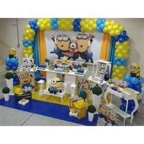 Kit Decoração De Festa Infantil - 10 Temas,cenários E Painel