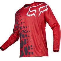 Jersey Fox 2017 360 Grav Rojo, Motocross, Atv, Mtb, Downhill