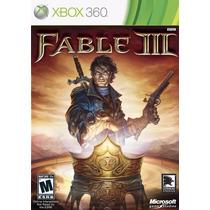 Jogo Fable 3 Xbox 360 Xbox One Original Usado - Leilão