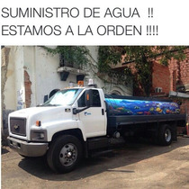 Servicio De Transporte De Agua Potable En Camiones Cisterna