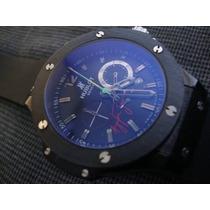 Relógio H Senna Quartz Safira Qualidade Superior