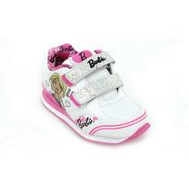 Zapatillas Addnice Barbie Con Abrojos Y Luz Deporfan