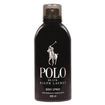 Polo Black Body Spray Ralph Lauren - Spray Corporal 300ml